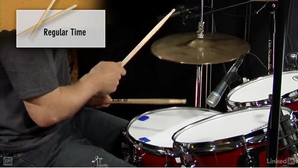 Half time: Drum Set Instruction: On The Beaten Path