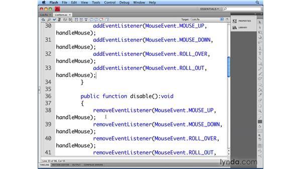 Viewing the ListItem class: Flash CS4 Professional: Building UI Elements
