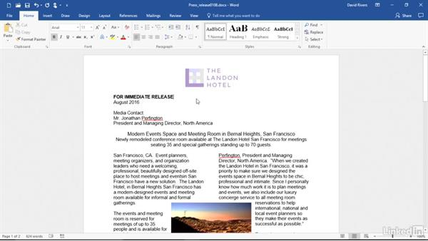 Format with the Mini toolbar: Migrating from Office 2003 to Office 2016