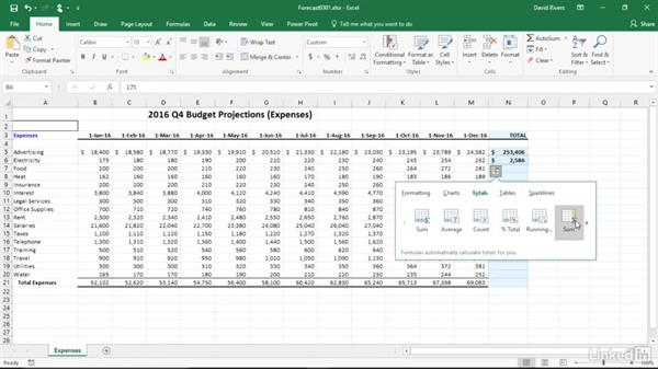 Use formulas and functions: Migrating from Office 2003 to Office 2016