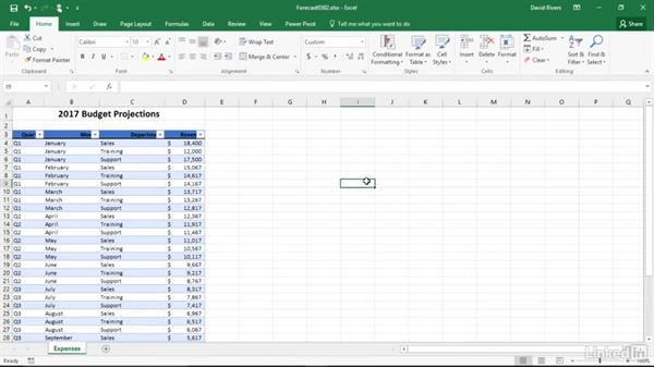 Work with Excel tables: Migrating from Office 2003 to Office 2016