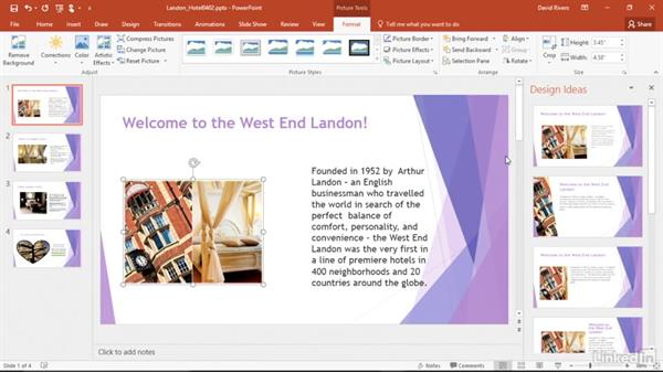 Get helpful design ideas with images: Migrating from Office 2003 to Office 2016