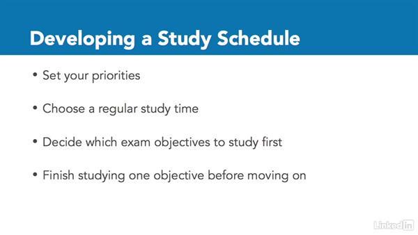 Develop a study schedule: Adobe Certified Associate Prep: Illustrator