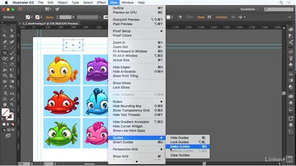 Use nonprinting design tools: Adobe Certified Associate Prep: Illustrator