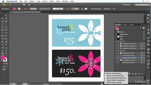 Use swatches: Adobe Certified Associate Prep: Illustrator