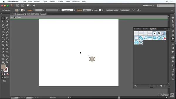 Brushes, symbols, graphic styles, and patterns: Adobe Certified Associate Prep: Illustrator
