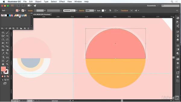 Modify and transform objects: Adobe Certified Associate Prep: Illustrator