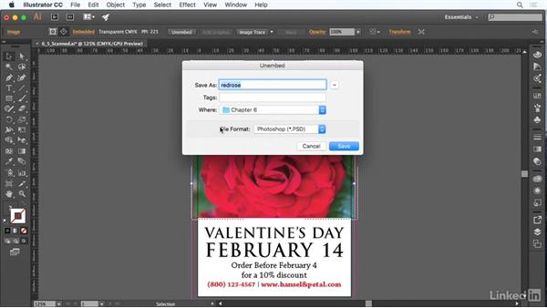 Use scanned images and photographs: Adobe Certified Associate Prep: Illustrator