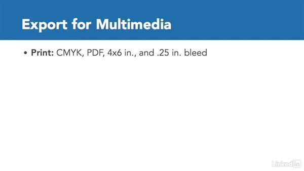 In practice: Export for multimedia: Adobe Certified Associate Prep: Illustrator