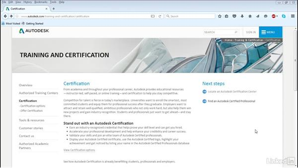 What is Autodesk certification?: Cert Prep: 3ds Max Certified Professional