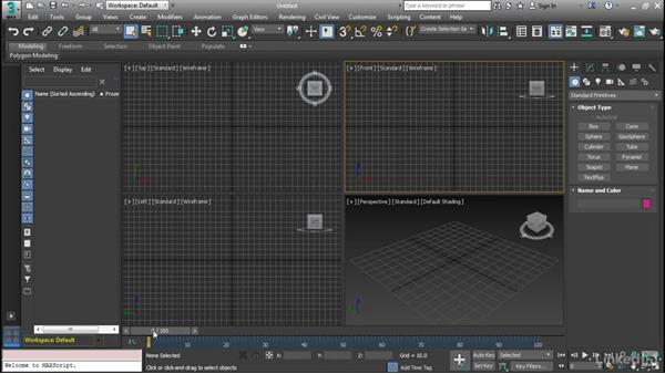 The 3ds Max interface: Cert Prep: 3ds Max Certified Professional
