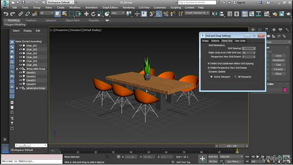 Set up and use scenes: Cert Prep: 3ds Max Certified Professional