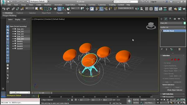 Duplicate and clone objects: Cert Prep: 3ds Max Certified Professional