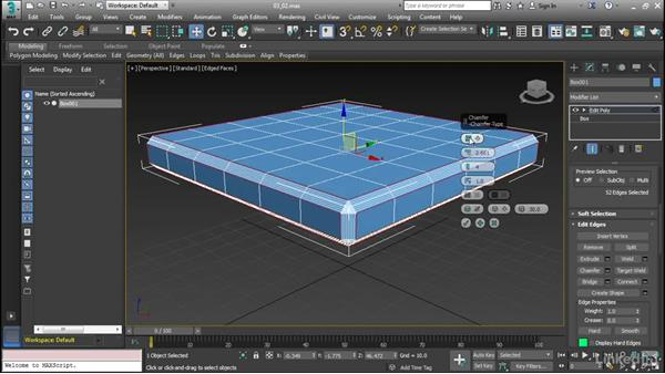 Polygon modeling tools: Cert Prep: 3ds Max Certified Professional