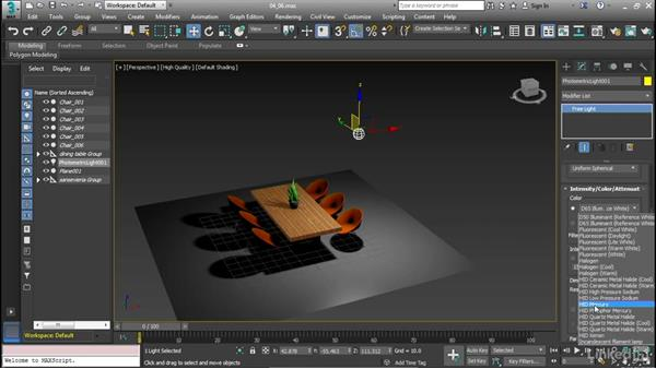 Work with photometric lights: Cert Prep: 3ds Max Certified Professional