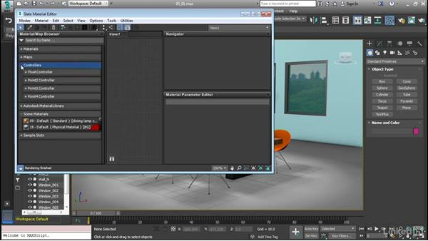 Using the Slate Material Editor: Cert Prep: 3ds Max Certified Professional