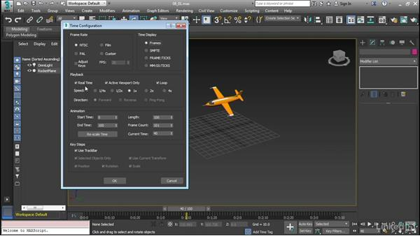 Configure animation settings: Cert Prep: 3ds Max Certified Professional
