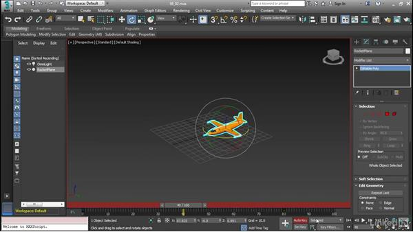 Work with keys in the Time Slider: Cert Prep: 3ds Max Certified Professional