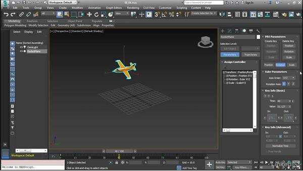 Using the Motion Panel: Cert Prep: 3ds Max Certified Professional