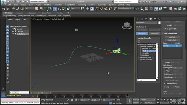 Create a path animation: Cert Prep: 3ds Max Certified Professional