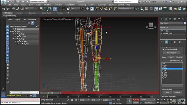 Using the Skin Modifier: Cert Prep: 3ds Max Certified Professional