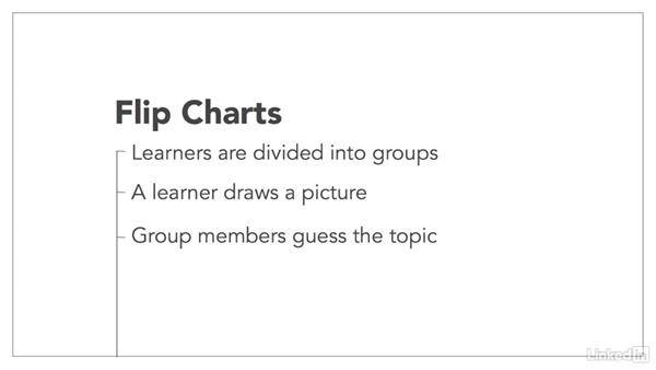 Leverage flip charts: How to Increase Learner Engagement