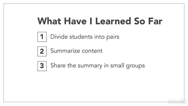 Summarizing: How to Increase Learner Engagement