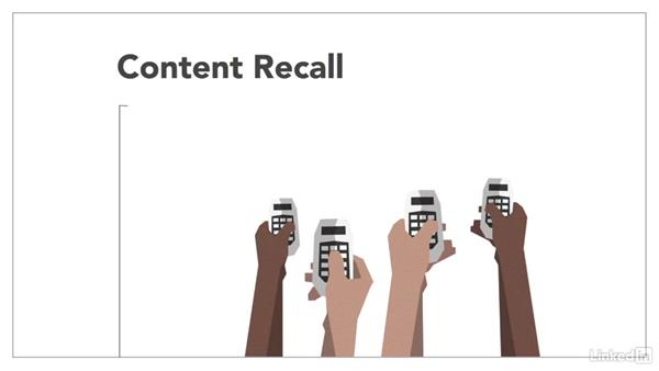 Content recall activities: How to Increase Learner Engagement