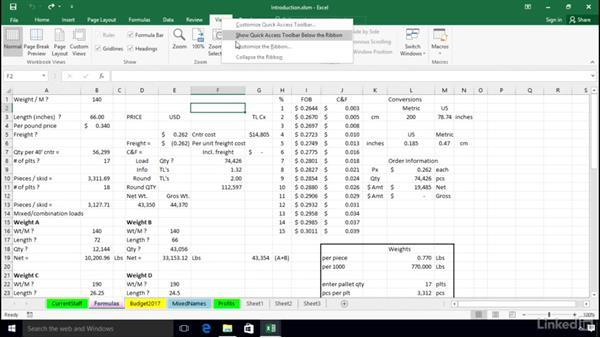 Short examples of the recording method: Excel 2016: Macros in Depth