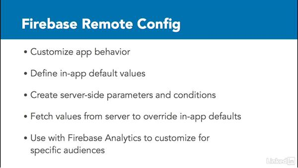 Overview of Firebase Remote Config: Google Firebase for Android: First Look