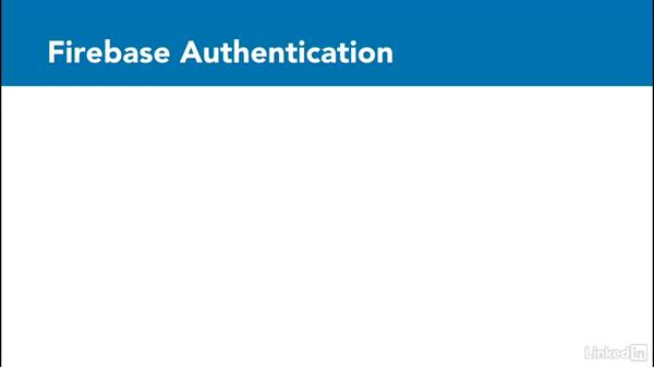 Overview of Firebase Authentication: Google Firebase for Android: First Look