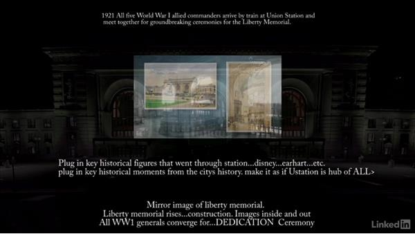 Projection Mapping Union Station's History - Film: Projection Mapping Union Station's History