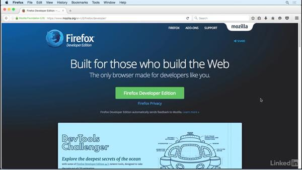 Browsers and tools: JavaScript for Web Designers