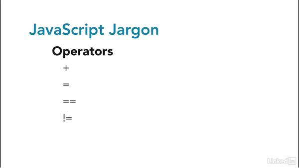 Jargon: JavaScript for Web Designers