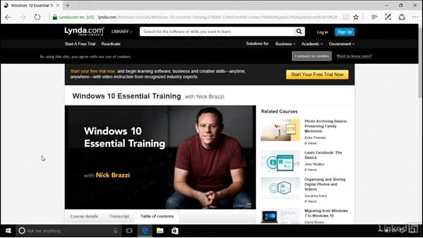 Next steps: Windows 10 Anniversary Update New Features