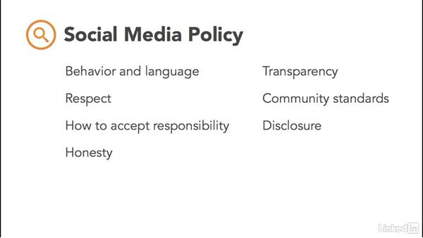 Craft a social media policy: Social Media Marketing for Small Business