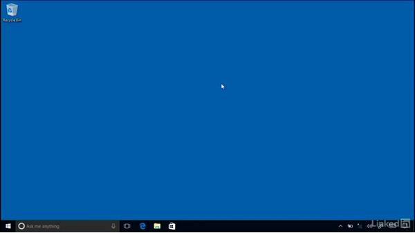 Connecting to the internet: Windows 10 Anniversary Update Essential Training
