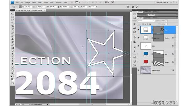 Power-duplicating paths: Photoshop CS4 One-on-One: Mastery