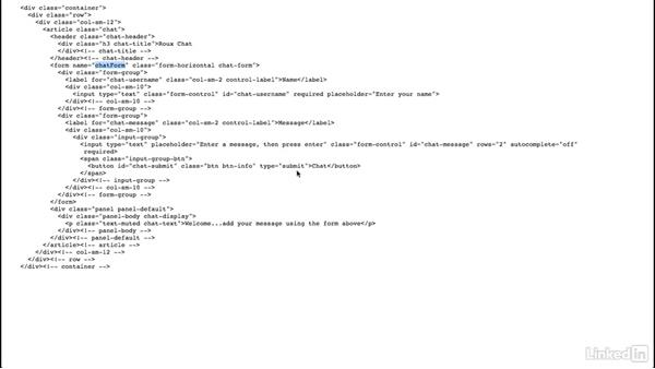 Setting up our chat route: Building a Website with Node.js and Express.js