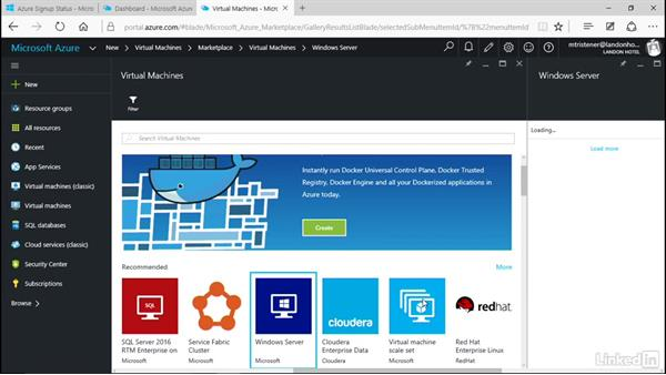 Create a virtual machine: Microsoft Azure for Developers