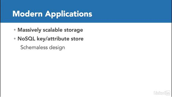 Table storage: Microsoft Azure for Developers