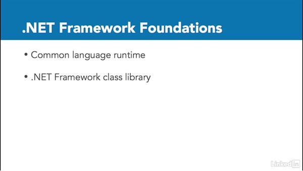 The .NET framework: Microsoft Azure for Developers