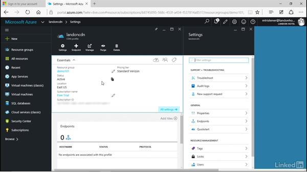 Set up your CDN configuration: Microsoft Azure for Developers