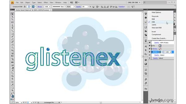 Editing a Smart Object in Illustrator: Photoshop CS4 One-on-One: Mastery