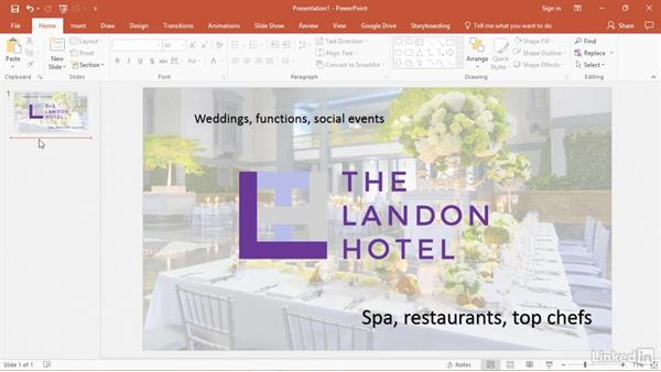 Use PowerPoint to create social media posts: PowerPoint2016 Tips and Tricks