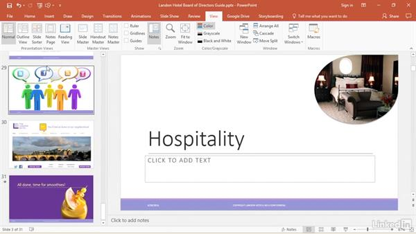 Organize slides into sections: PowerPoint 2016 Tips and Tricks