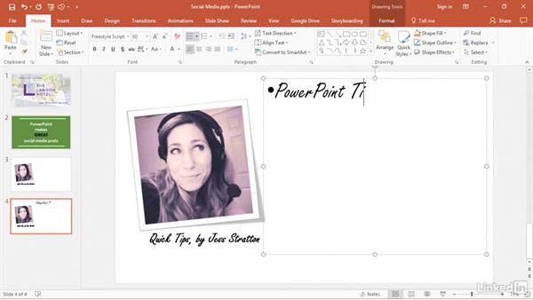 Create your own layouts with slide masters: PowerPoint 2016 Tips and Tricks