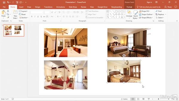 Align and size photos perfectly: PowerPoint 2016 Tips and Tricks