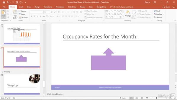 Dynamically update text on a slide from Excel: PowerPoint 2016 Tips and Tricks