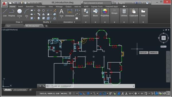 Using the exercise files: AutoCAD Facilities Management: Areas